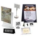 Ценникодержатели и таблички для кафе, бара и ресторана