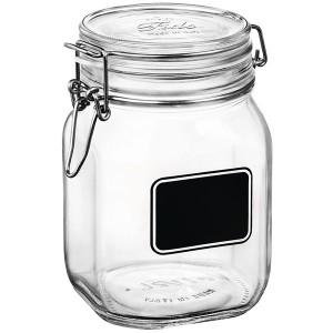 Банка для сыпучих продуктов «Лавана»; стекло; 1, 125л; D=10, 6, H=16см