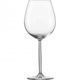 Бокал для вина «Дива»; хрустальное стекло ; 0, 613л; D=67/100, H=247мм; прозрачный