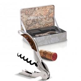 Набор нарзанник+чехол в подароч. уп-ке «Толедо»; сталь, дерево; , H=35, L=180, B=120мм; металлический , коричневый