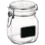 Банка для сыпучих продуктов «Лавана»; стекло; 0, 9л; D=10, 6, H=13, 6см