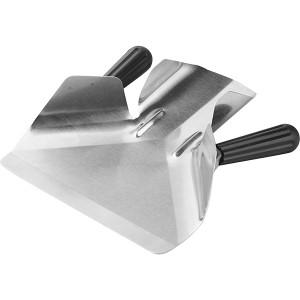Совок для картофеля фри с 2мя ручками; сталь нержавеющая , пластик; L=23, B=20см